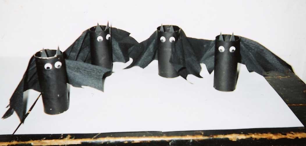 Halloween - Objet avec rouleau papier toilette ...